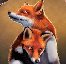 They Foxes. Un proyecto de Ilustración de Ana del Valle Seoane - 29-08-2016