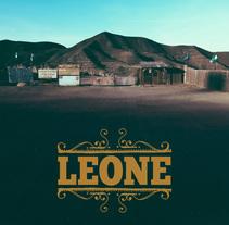 Diseño carpeta disco Leone. Un proyecto de Diseño gráfico de Emilio Gutierrez Rodriguez - Domingo, 06 de septiembre de 2015 00:00:00 +0200