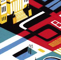 581 Mapas. Un proyecto de Ilustración de Daniel  Montero Galán - Martes, 06 de septiembre de 2016 00:00:00 +0200