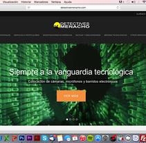 Diseño y desarrollo WEB - Detectives Menacho. A Web Design, and Web Development project by Paco Maringo         - 31.12.2013