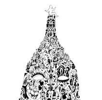 Quadro su commissione. A Illustration, Art Direction, and Fine Art project by Lele Gastini         - 14.01.2016