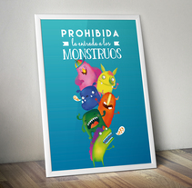 monstruitos. A Illustration project by Elena Chirino González         - 18.02.2016