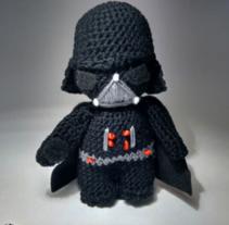 Colección Star Wars (amigurumis). Un proyecto de Artesanía y Diseño de juguetes de Andrea Anaya         - 24.03.2016