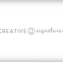 Creative Signatures (Cursos profesionales de cocina). Un proyecto de Sound Design de Josep  González Farré         - 20.03.2015