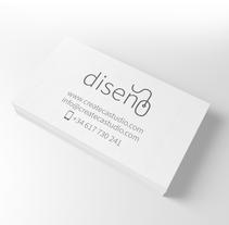 Tarjetas visita / Business cards. Um projeto de Design, Direção de arte, Design gráfico, Marketing e Web design de Moisés Ruiz Bell.         - 21.09.2016