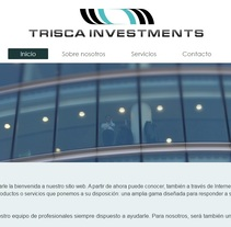 Trisca Investments. A Br, ing, Identit, Marketing, and Web Design project by Fernando Pazos Estévez         - 31.07.2016