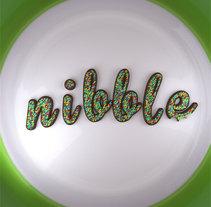 Nibble_3d lettering photo realistic . Un proyecto de Diseño, 3D y Tipografía de nando_cebrian         - 23.09.2016