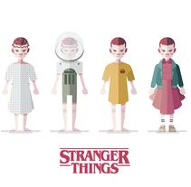 Stranger Things (Eleven). Un proyecto de Ilustración de Ricardo Polo López         - 25.09.2016