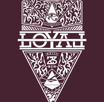 LOYAL Shirt. A Design, Costume Design, and Screen-printing project by Max Gener Espasa         - 25.09.2016