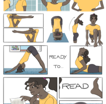 Ready to read. Un proyecto de Comic de Verónica G. Lagos         - 24.06.2016