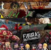 Nuevo proyectoBanners y promociones para elsecretodelacero.com. A Graphic Design project by Ruben Martínez         - 04.10.2016
