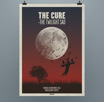 The Cure - Lovesong. Um projeto de Design gráfico de Noir  Design         - 09.10.2016