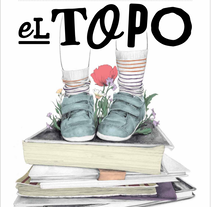 La Educación - Portada para El Topo #18. A Illustration, Editorial Design, and Fine Art project by Belén  Moreno - 19-09-2016