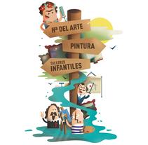 Mi Proyecto del curso: Ilustración exprés con Illustrator y Photoshop. A Design, Illustration, Advertising, Character Design, Education, Fine Art, and Graphic Design project by Itziar Sánchez Chicharro - 17-10-2016