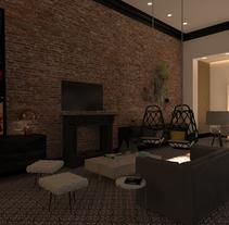 Proyecto realizado en París, al lado del río Sena. Se trata de un proyecto de rehabilitación integral de un loft del 1921, estilo modernista con un aire ecléctico.. Un proyecto de Arquitectura interior de Josep Vilaplana Castany - 19-10-2016