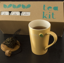 Tea Kit. Un proyecto de Diseño y Packaging de Belén Larrubia - 24-10-2016