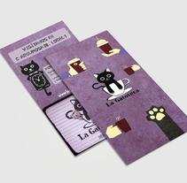 Tríptico Gatoteca. A Editorial Design, and Graphic Design project by Carmen Somovilla Moreno - 19-10-2016