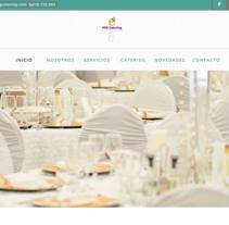 Catering a domicilio en Madrid. Un proyecto de Diseño Web de Alex Costelo         - 12.09.2016