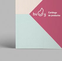 BUDY   Identity & Catalog. Un proyecto de Diseño, Ilustración, Br, ing e Identidad y Diseño editorial de Lidia Lobato - 30-09-2016
