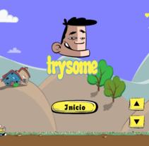 Videojuego Trysome. Un proyecto de Diseño de juegos y Diseño gráfico de David Murillo         - 01.11.2016