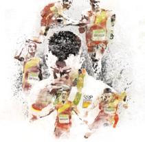 Rio 2016. Un proyecto de Ilustración y Diseño gráfico de Adolfo Huesca Arcos         - 01.11.2016