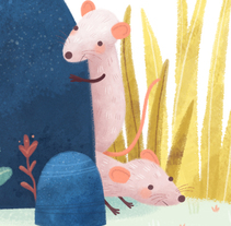 Dos ratones precavidos. A Illustration project by Rocio Sanchez         - 03.11.2016