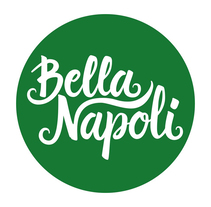 Logotipo Restaurante Bella Napoli. A Br, ing, Identit, and Calligraph project by Javier Piñol - 02-11-2016