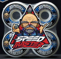 Speed Master / Wheels. Un proyecto de Br, ing e Identidad, Diseño de personajes y Diseño de producto de Daniel Carrillo         - 06.11.2016