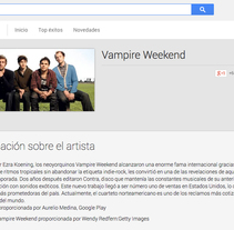 Google Play - Contenidos musicales. A Cop, and writing project by Aurelio Medina         - 07.04.2013