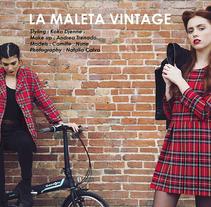 LA MALETA VINTAGE. Un proyecto de Diseño, Fotografía y Moda de natalia calvo  - 08-11-2016