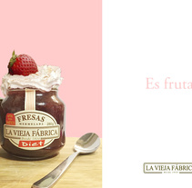 Campaña de publicidad, ficticia para La vieja Fábrica.. A Advertising, Graphic Design, Cop, and writing project by pilar vera marañón         - 08.11.2016