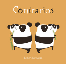 Contrarios. A Illustration project by Esther Burgueño Vigil         - 13.11.2016