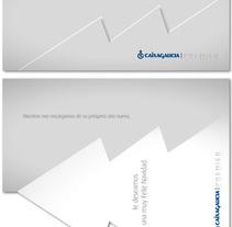 Caixa Galicia Premier: Navidad.. Un proyecto de Publicidad, Gestión del diseño, Marketing, Cop y writing de Fran  Añón         - 13.11.2016