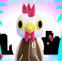 Mi Proyecto del curso: Diseño de personajes en Cinema 4D: del boceto a la impresión 3D. A Illustration, 3D, Art Direction, Character Design, To, and Design project by Carmen Rosa Soler Avilés         - 14.11.2016
