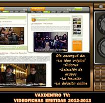 VIDEOENTREVISTAS PARA VAXDENTRO TV (2012-2013). A Music, Audio, Film, Video, TV, Writing, and Video project by Vane Balón - 01-02-2013
