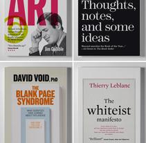Libros blancos para La Central. A Editorial Design, Graphic Design, T, and pograph project by Enric Jardí - 19-11-2016