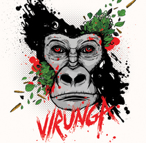 virunga.. A Illustration project by carlos gala (charly)         - 22.11.2016