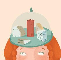 Cartel de teatro. Un proyecto de Ilustración y Diseño gráfico de Justine Duhé         - 28.11.2016