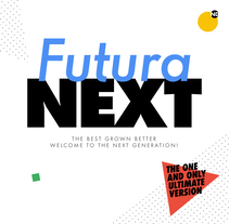 Futura NEXT. A T, and pograph project by Bauertypes  - 30-11-2016