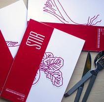 Stir Magazine. Un proyecto de Diseño editorial de Belén Lafuente Simal - 05-12-2015