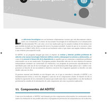ADITEC. Un proyecto de Diseño editorial de Ana Cristina Martín  Alcrudo - 05-12-2016