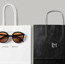 LUKAH + MURAT. A Design, Art Direction, Fashion, Graphic Design, Packaging, Shoe Design, T, pograph, Calligraph, and Naming project by perla valencia hernández - Dec 06 2016 12:00 AM