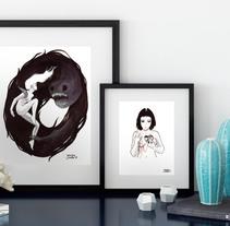 Dibujos en tinta . Um projeto de Ilustração e Pintura de Martin Corella         - 09.10.2016