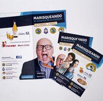 Campaña creativa para el restaurante Los Mellizos. A Design, Advertising, Br, ing, Identit, Cooking, Graphic Design, and Marketing project by DIKA estudio  - 31-01-2014