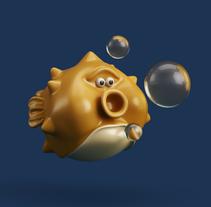 fish. Un proyecto de Diseño, Ilustración y 3D de Juan Afanador         - 22.12.2016