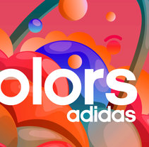 ADIDAS - COLORS. A Design, Illustration, Advertising, Art Direction&Infographics project by Borja Alegre         - 23.12.2016