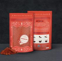 Ethiopian Spices. Um projeto de Ilustração, Br, ing e Identidade, Design gráfico, Packaging e Tipografia de Beatrice Menis - 25-12-2016