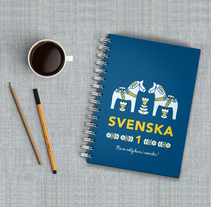 Svenska. A Illustration, Br, ing, Identit, Editorial Design, Graphic Design, T, and pograph project by Beatrice Menis         - 25.12.2016