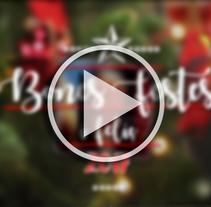 """ºFelicitació Nadal de """"Es Nadal al Món"""" 2016. Un proyecto de Cine, vídeo y televisión de Gonçalo Brito         - 20.12.2016"""