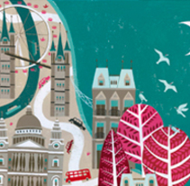 Sounds of the city. Un proyecto de Ilustración de Dàlia Adillon - 05-01-2017